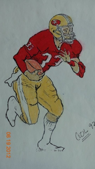 Roger Craig in Pen/Ink/Pencil/Marker
