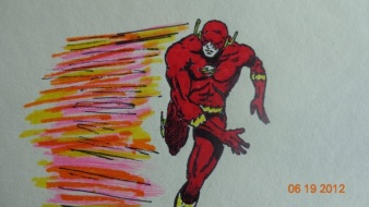 The Flash in Ink/Marker