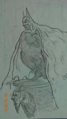 The Batman in Pencil