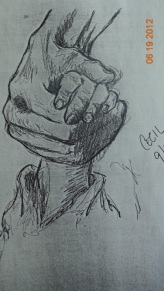 Schindler's List in Pencil/Charcol