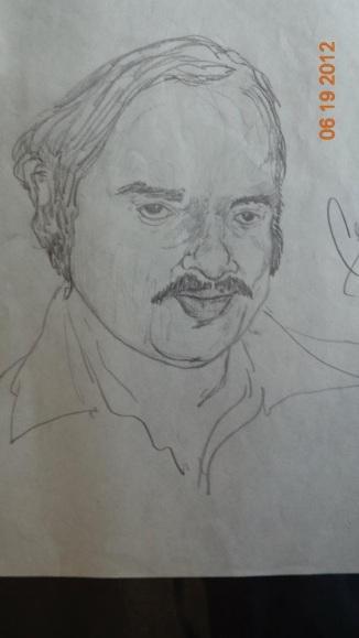 Uncle Davis in Pencil