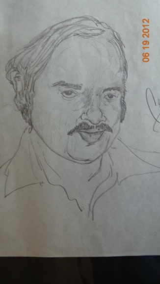 Uncle Davis in Pencil