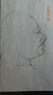 Uncle Sonny in Pencil