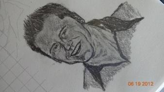 Garrett in Pencil