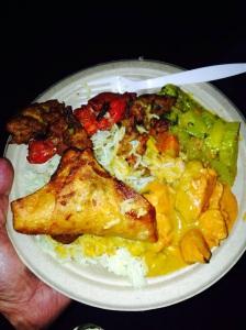 tandoori chicken, chicken tikka masala, samosa, pakoras