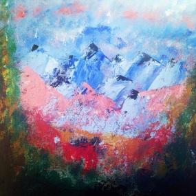 11x14 Acrylic Painting.