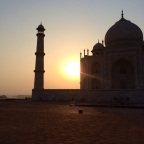 A Tale of India: Day Four in Agra (5/27/14) Part Two – It's not all fun and monkey games at the Taj…