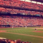 Oriole Park at Camden Yards… My Love of Baseball