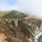The Pacific Coast Highway with Taylor and Bruce Springsteen