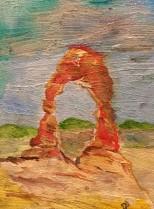 Delicate Arch (watercolour)