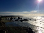 Driving with My Papa Along the Oregon Coastline