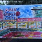 A Public Market. A Painting.