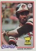 1977 Eddie Murray Topps Rookie Card