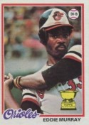 1977 Eddie Murray Topps Rookie Card