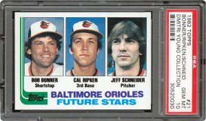 1981 Cal Ripken Jr Topps Future Stars Rookie Card