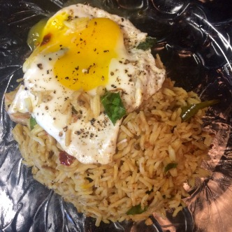 Thai Chili Fried Rice withFried Egg