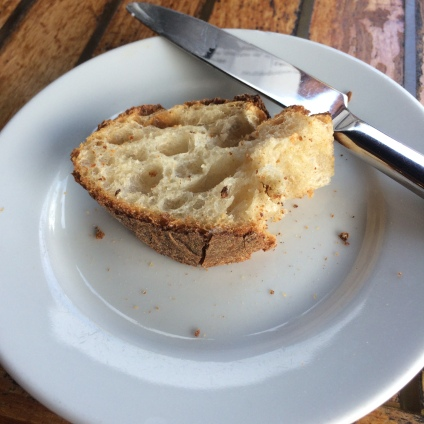 Bread at Le Garage