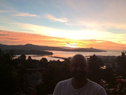 Sunrise in Sausalito