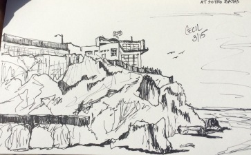 Cliff House Sketch
