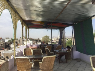 rooftop restaurant atop Hotel Paramount