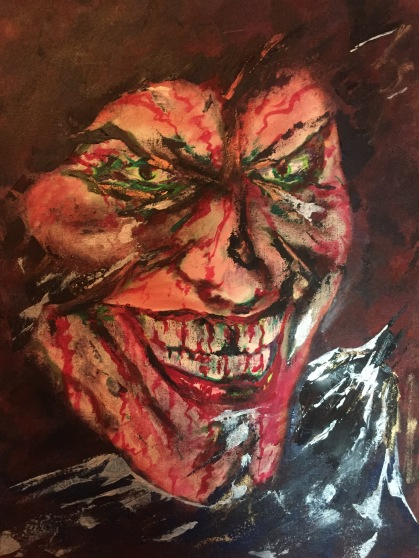 The Joker - 24x36 Oil Painting