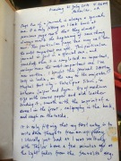 21 July 2014 Journal Entry
