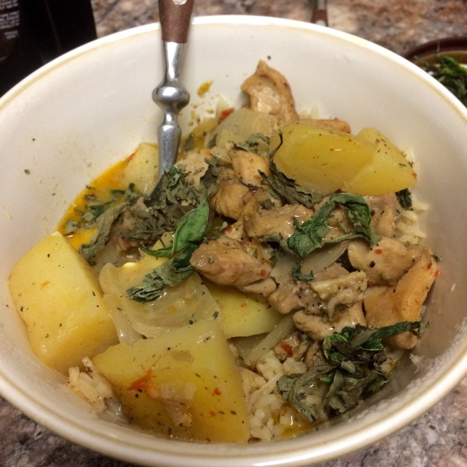 Massaman Chicken Curry with Potatoes