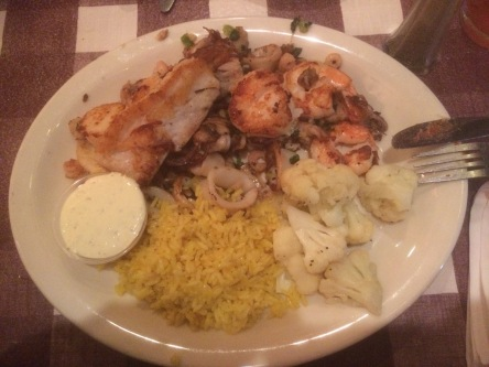 Secret of My SucCecil: Grilled Seafood Platter at Nick's