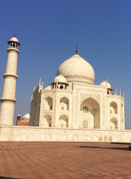 Secret of My SucCecil: epic trip thru India, here the Taj Mahal
