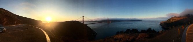 Secret of My SucCecil: Golden Gate Sunrise