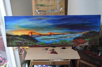 Secret of My SucCecil: Sunrise over the Golden Gate ($2525)