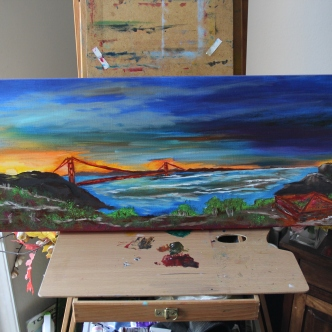 Secret of My SucCecil: Sunrise over the Golden Gate ($2525)