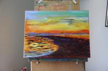 Secret of My SucCecil: Sunset from Ranger's Island off the Tabbahata Reef (SOLD)