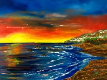 Secret of My SucCecil: Sunset off the Pacific (SOLD)