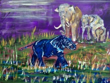 Secret of My SucCecil: The Blue Elephant in the Room (SOLD)