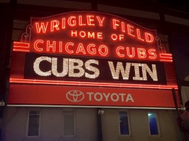 Secret of My SucCecil: CUBS WIN!
