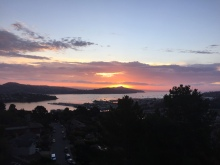 Secret of My SucCecil: Sausalito Sunrise 10-16-15