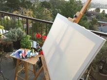 Secret of My SucCecil: Painting Under a Sunrise