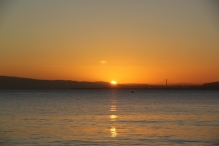 Sunrise on Bridgeway 10-29-15 9856