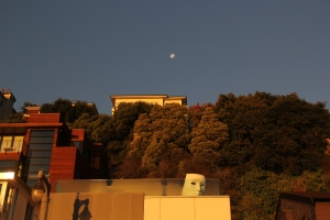 Sunrise on Bridgeway 10-29-15 9906