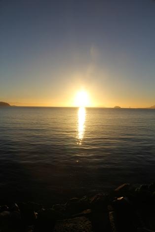 Sunrise on Bridgeway 10-29-15 9933