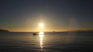 Sunrise on Bridgeway 10-29-15 9961