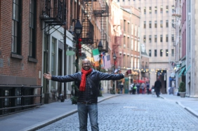 Walking the Financial District in Manhattan