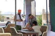 Hotel Pushkar Paramount rooftop