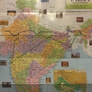 The Map of Our Indian Adventures