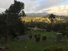 Hiking thru the Marin Headlands, including Fernwood Cemetery