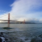 Off to the Golden Gate