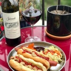 Hotdogs and Vino for the Win